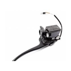 Universal Handbremszylinder Bremspumpe Schwarz mit sensor 22MM