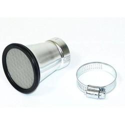Trompette d'admission en aluminium 52MM