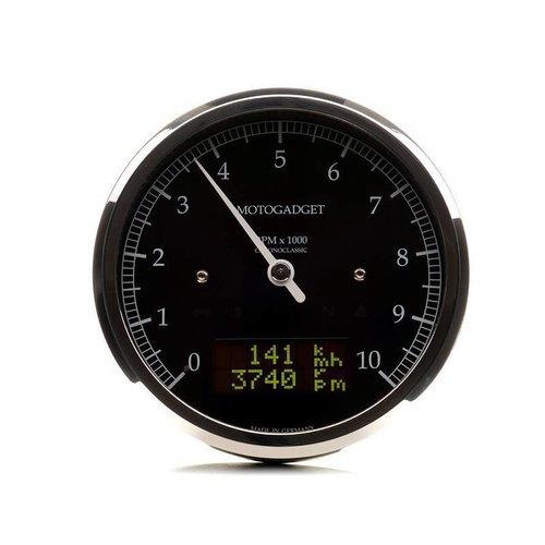 Motogadget Chronoclassic Tacho Geplijst 10.000 RPM