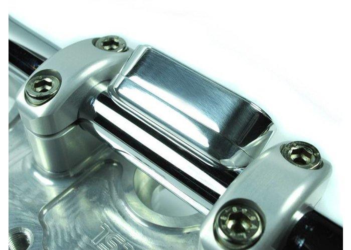 Motogadget MSM Combi Stuur Montage Kit Gepolijst