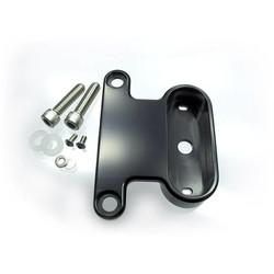 H-D XL Rockerbox Bracket Black Anodized