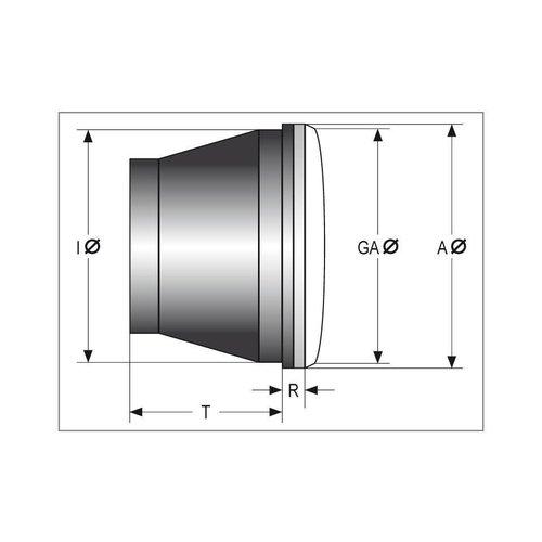 Highsider LED main headlight insert Jackson, 5 3/4 inch