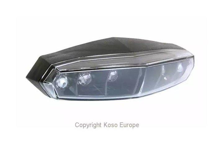 KOSO LED-achterlicht Mini (rooklens)