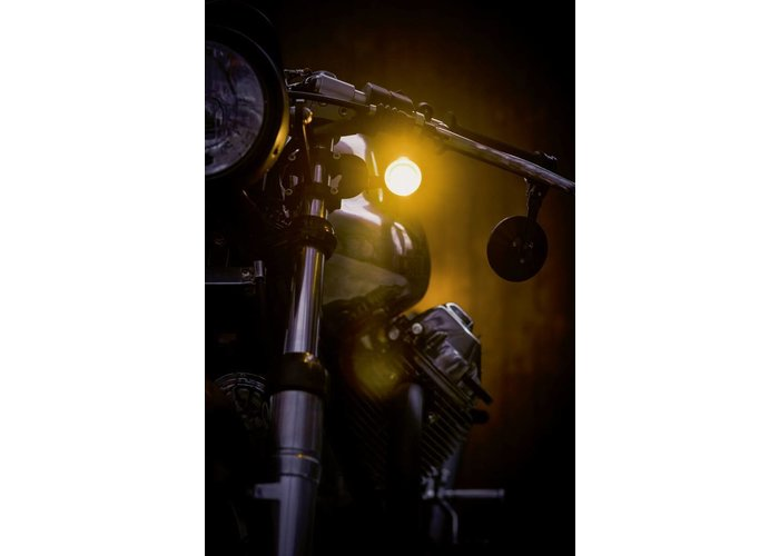 Kellermann Bullet 1000 Extreme Knipperlicht Matte Chrome