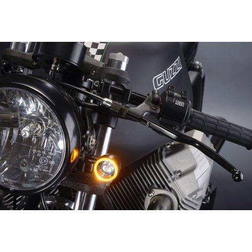 Kellermann  Bullet 1000 PL Knipper / Rijlicht Matte Chrome