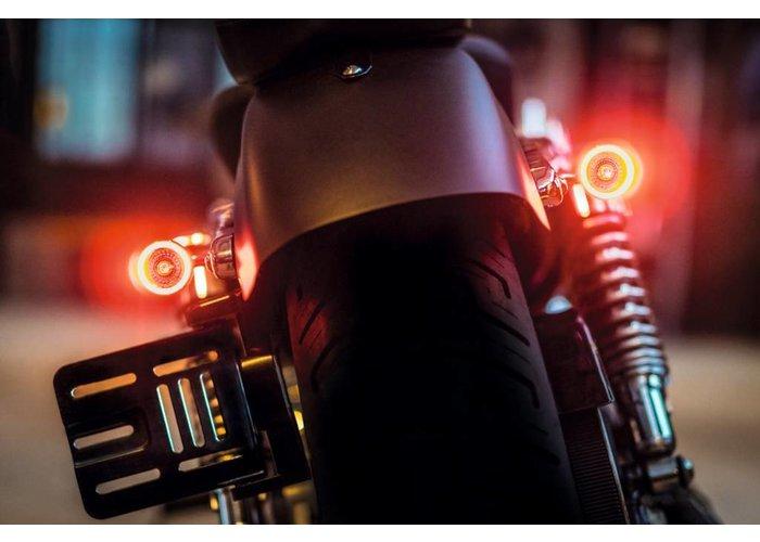 Kellermann 1000DF Bullet Achterlicht & Knipperlicht Chrome