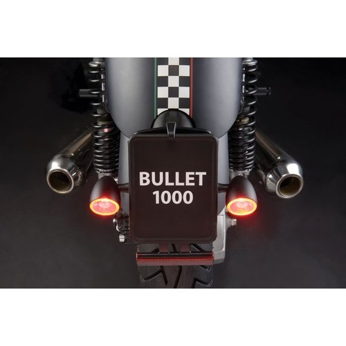 Kellermann 1000DF Bullet LED-Blinker- / Rücklicht  Chrome