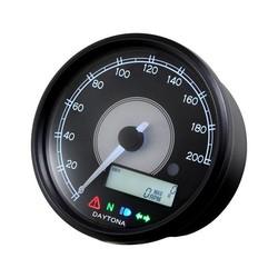 Indicateur de vitesse / Compte-tours Velona 80MM