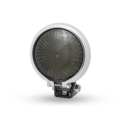 Smoke Achterlicht LED type Bates Style 2 Chrome  Zwart
