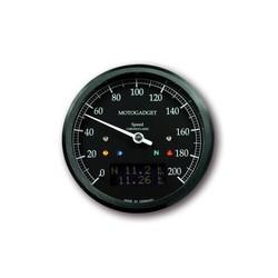 Chronoclassic Speedo 0-200 km/h Schwarz