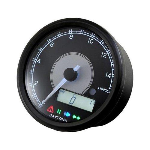 Daytona 80MM Velona 14.000 rpm Kilometerteller / toerenteller