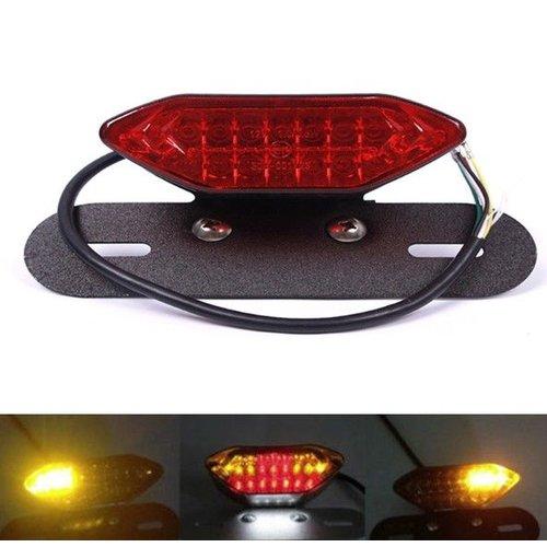 MCU LED Achterlicht met Geintegreerd Knipperlichten