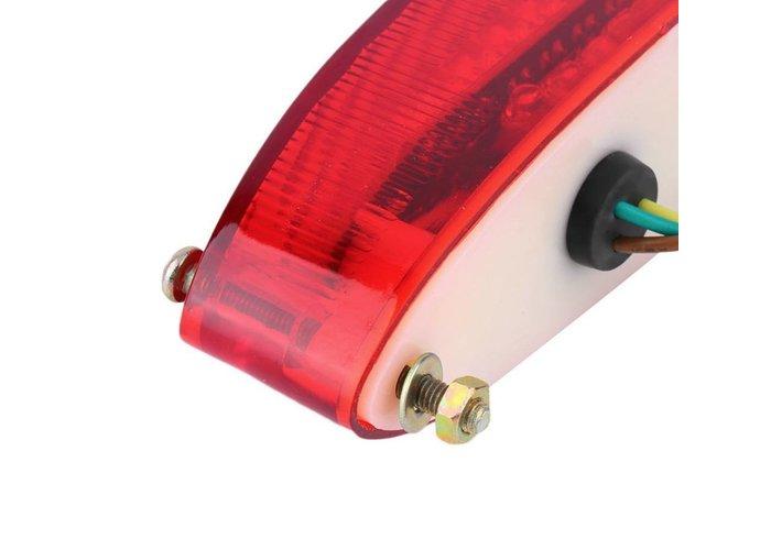 MCU Achterlicht LED Ovaal Rood Type 2
