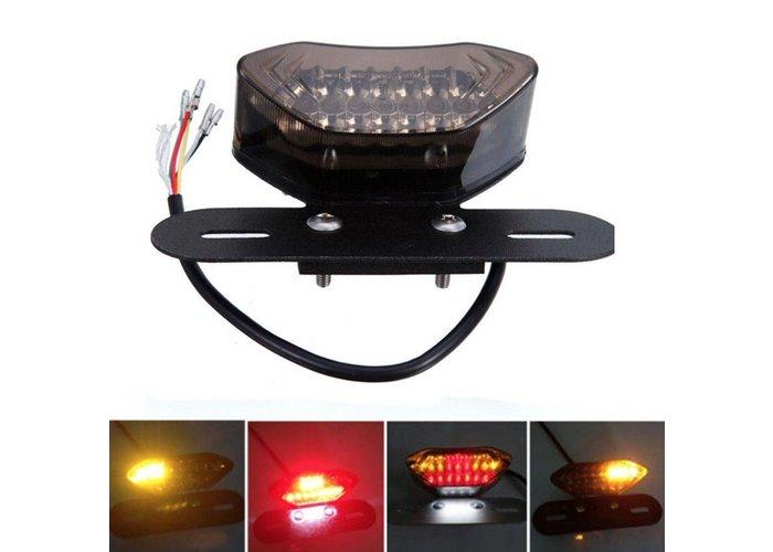 MCU Achterlicht met Geintegreerde Knipperlichten SMOKE LED