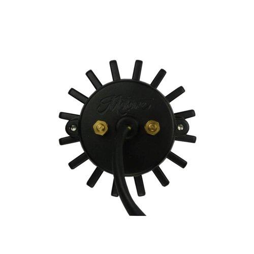 Motone Big Fin Rem/Achterlicht Zwart Uitgevoerd
