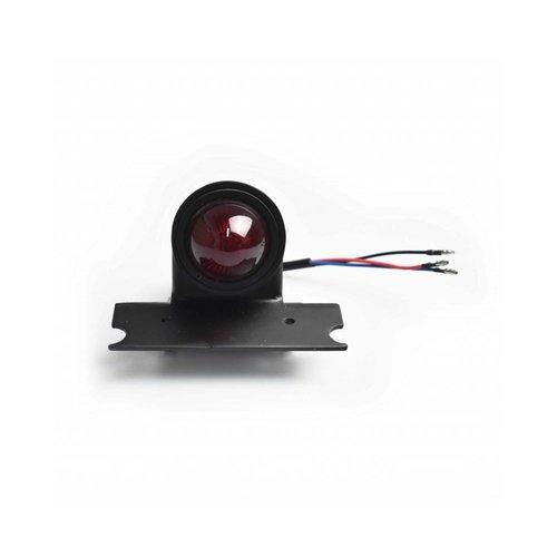 MCU Scrambler Style Taillight - Black