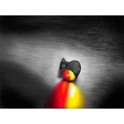 Atto DF Zwart achterlicht en richtingaanwijzer
