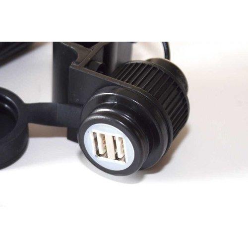 2-fach USB Steckdose