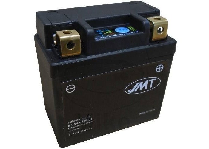 JMT LFP01 Lithium Ion Batterie (120CCA en Enorm Klein)