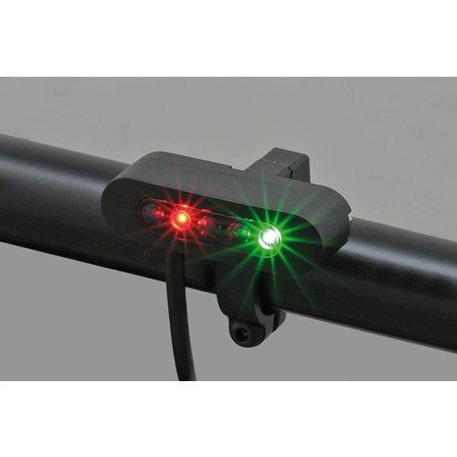 "Daytona 5 LED Micro ""Alpha"" Indicatie lampfen"