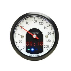 Motoscope Tiny Speedo zwart