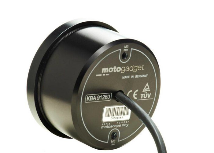 Motogadget Motoscope Tiny Speedo zwart