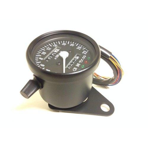 MCU 1:4 Kilometerteller 4 extra functies Zwart