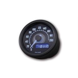 Velona Compteur de vitesse noir