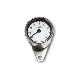 8.000 RPM Chopper Tachometer Chrome