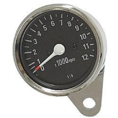 MCU 1:4 Drehzahlmesser 12K Schwarz/Chrom
