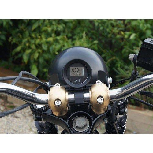 GPS Kilometerteller voor 22MM Stuur Type 1