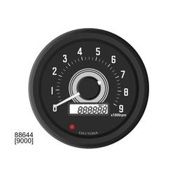 60MM Velona Tachometer 9,000 RPM