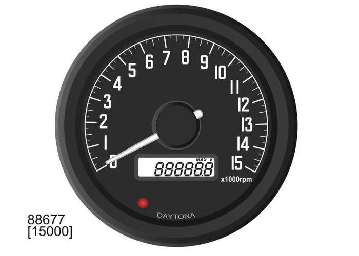 Daytona Velona 60MM Toerenteller 15000 RPM - type 2