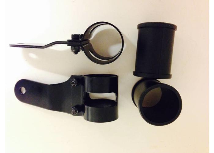 Shin Yo 38-42mm Zwarte Koplamp Steunen / Lamporen