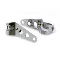 32mm - 40mm Chrome Headlight Brackets