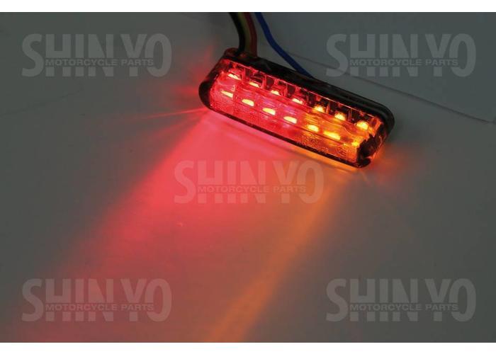 Shin Yo LED Shorty Knipper & Achterlicht Combinatie