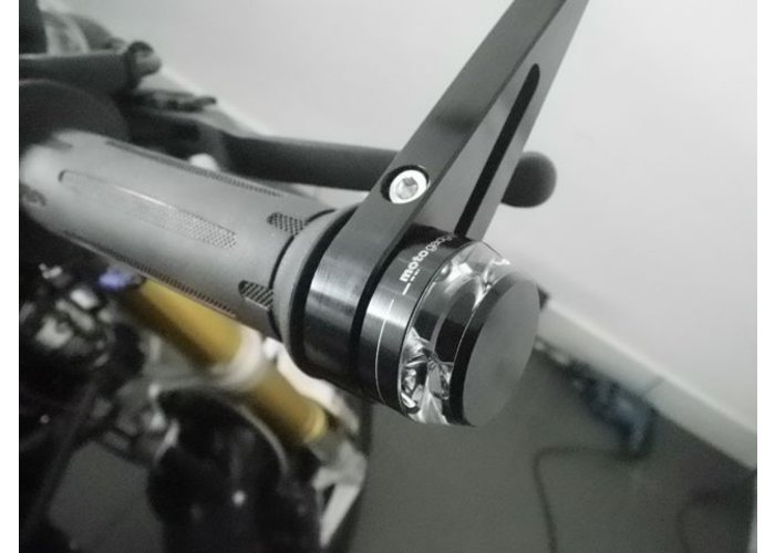 Motogadget Bar end LED-indicator m-Blaze Disc Black