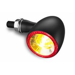 1000 DF Bullet LED-Blinker Rücklicht-Einheit Schwarz