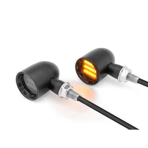 DERBY Black  CNC gefreesde Classic Mini LED-indicatoren