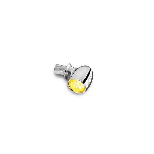 Kellermann Feu à LED Bullet Atto chromé avec verre transparent