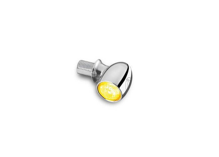Kellermann LED-indicator Bullet Atto chroomhelder glas met E-keur