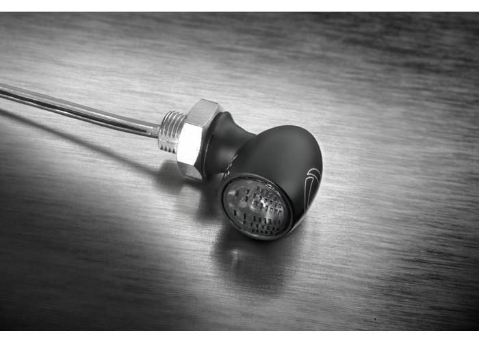 Kellermann Bullet Atto Dark LED-indicator Smoke