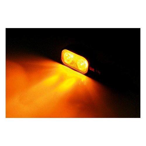 Shin Yo LED-indicator MX-1, behuizing van zwart metaal