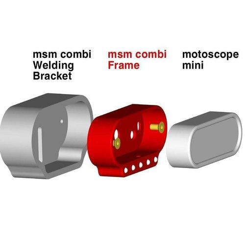 Motogadget MSM Combi Weld-In Cup (RVS)