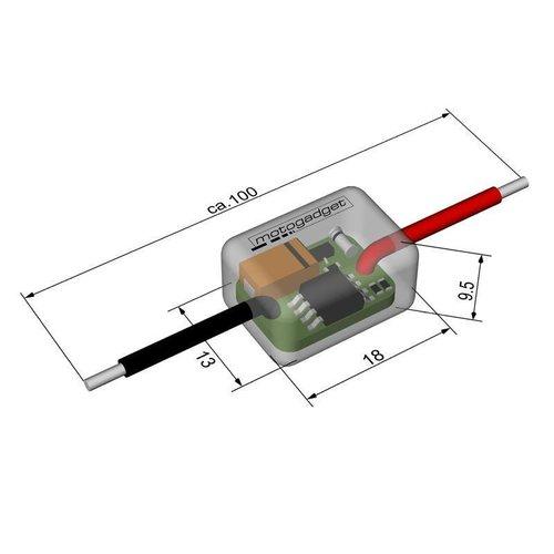 Motogadget M-Flash Digitaal Knipperlicht Relais