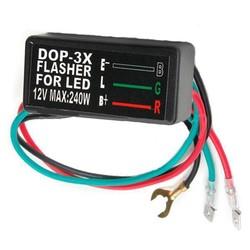 Relais pour clignotant LED 12V DOP - 3X
