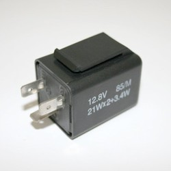 Flasher 3 Terminals Electronic 12 V