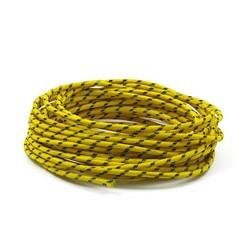Câble personnalisé 3MM x 7500MM jaune
