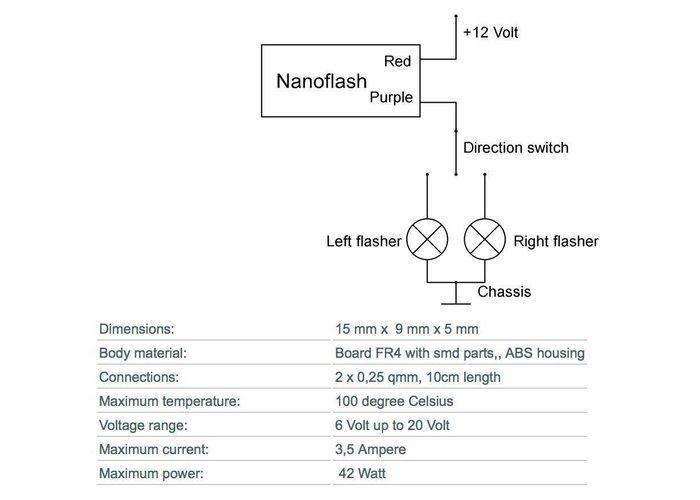 Nanoflash Knipperlicht Relais