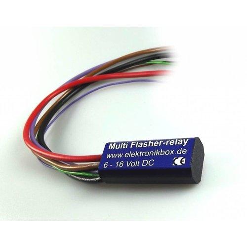 Mini knipperlicht relais met automatische uitschakel functie